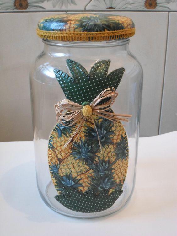 inspiração garrafas artesanato