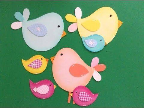 passarinhos de artesanato