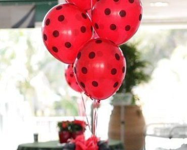 balões festa ladybug