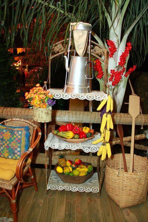 decoração festa junina30