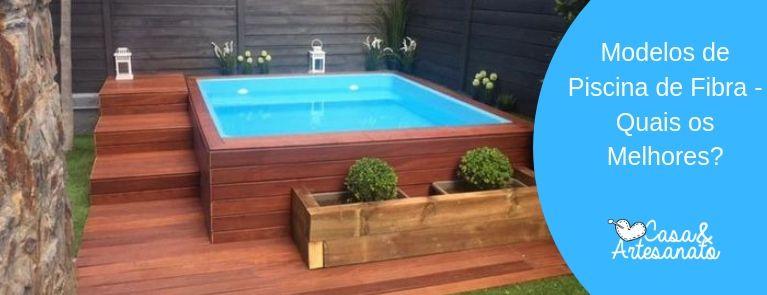 melhores modelos de piscina de fibra